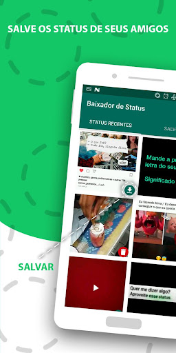 Baixador de Status 1.4 screenshots 1