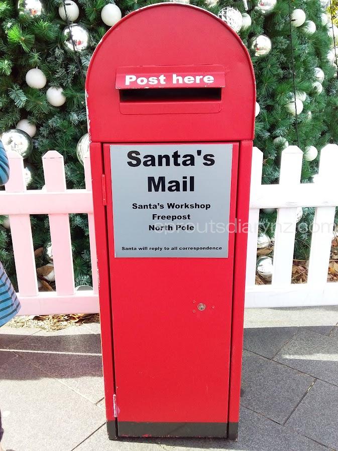 サンタさんへのポスト