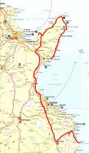 Photo: Tour vom 30.04.08 von Nabeul über Menzel Temime, El Haouaria, Grombalia, Kalaa Kebira, El Djem nach Chebba