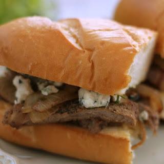Bistro Style Steak and Onion Sandwich.