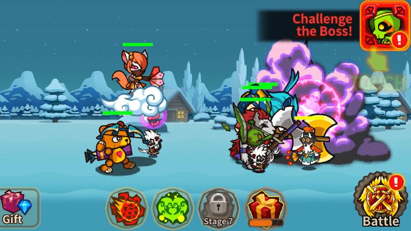 Скриншот Monster Merge King