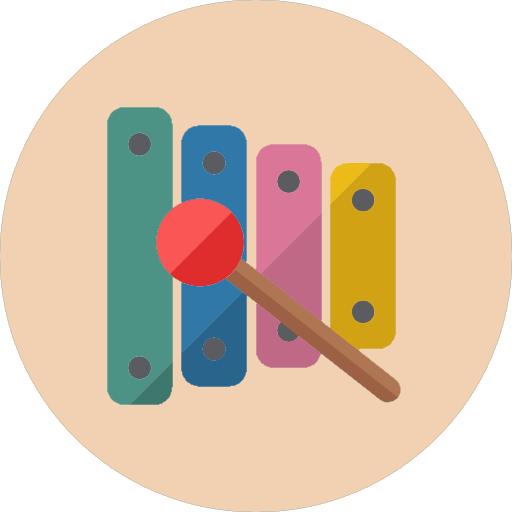 教育App|儿童木琴 LOGO-3C達人阿輝的APP