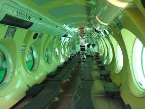 Photo: V útrobách vyhlídkové ponorky