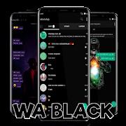 WA Black Transparan 2019