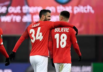 """Laifis content de la mentalité affichée par le Standard contre Lech Poznan : """"On a tout donné"""""""