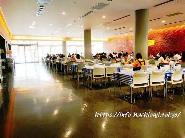 東京薬科大学 学食 生協食堂