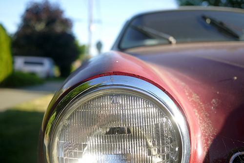 Photo: Old VW
