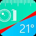 Bubble Level, Ruler icon