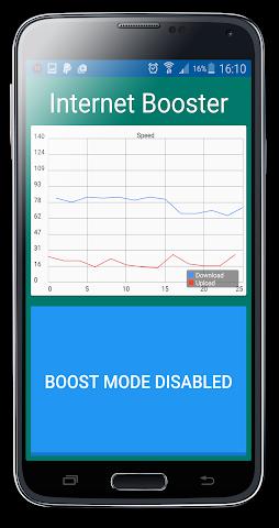 android Internet Speed Booster Prank Screenshot 1