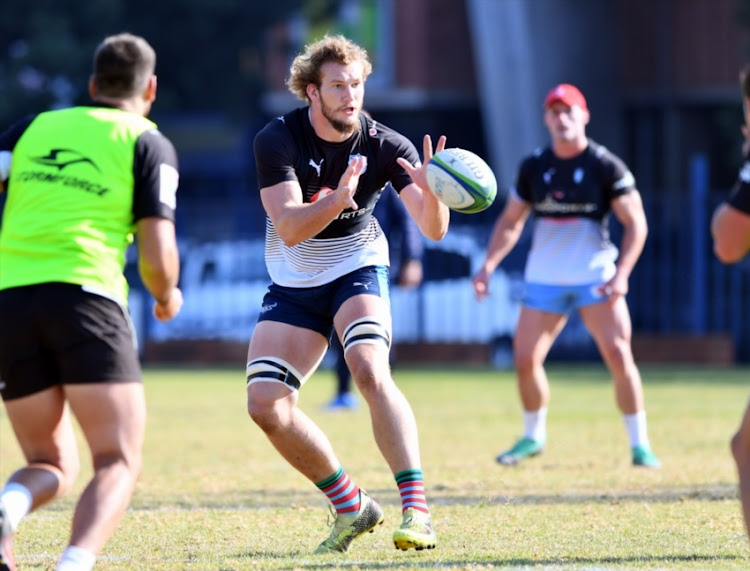 RG Snyman during the Vodacom Bulls training session at Loftus Versfeld on July 04, 2018 in Pretoria, South Africa.