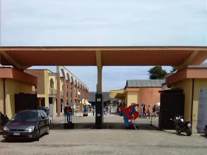 Photo: L'ingresso al Parco della Scienza nel quartiere Gammarana a Teramo
