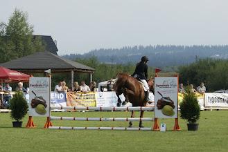 Photo: Natalia Kwaśnik na koniu HIALIT z SK *Dworna*