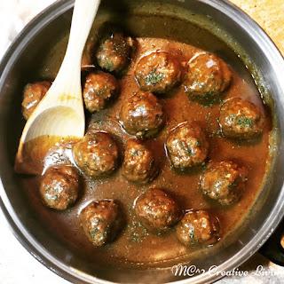 Meatballs and Gravy.