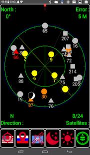 GPS status & Weather - náhled