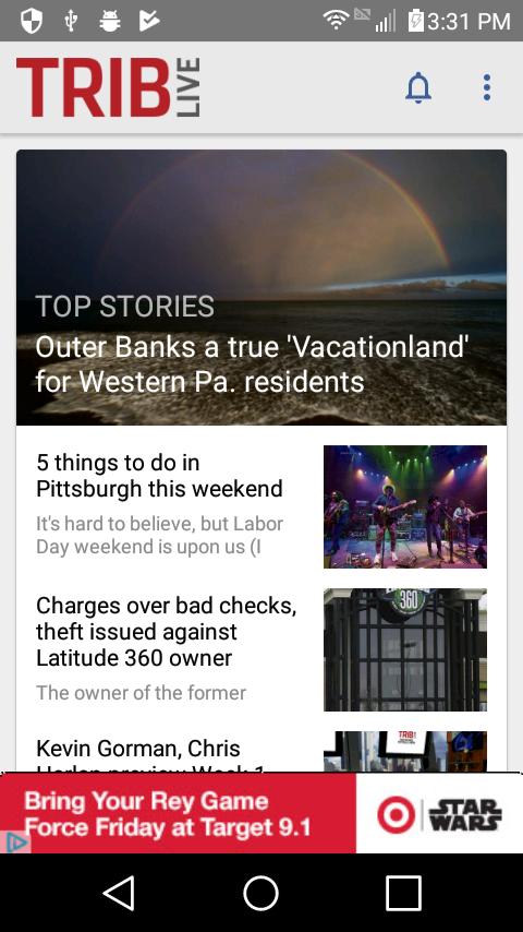 Скриншот TribLive News and Sports