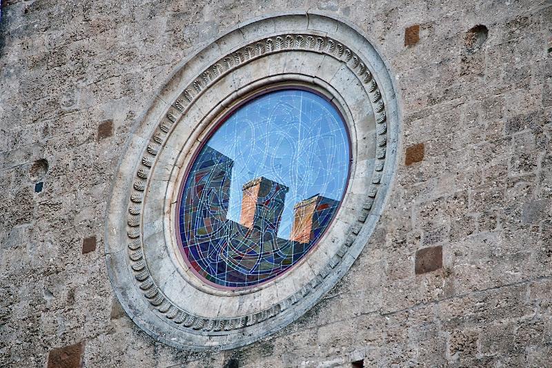 riflesso di antiche mura di Fotodiale