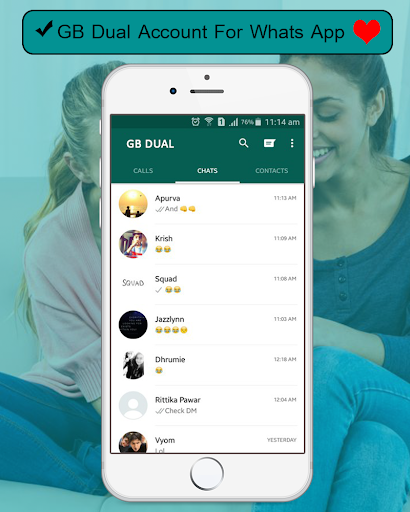 New GBWhatsaap Blue 2018 for PC