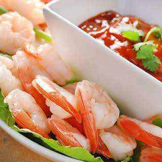 Spicy Thai-Inspired Shrimp Cocktail.