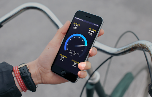 GPS Speedometer: HUD Digi Distance Meter screenshot 2