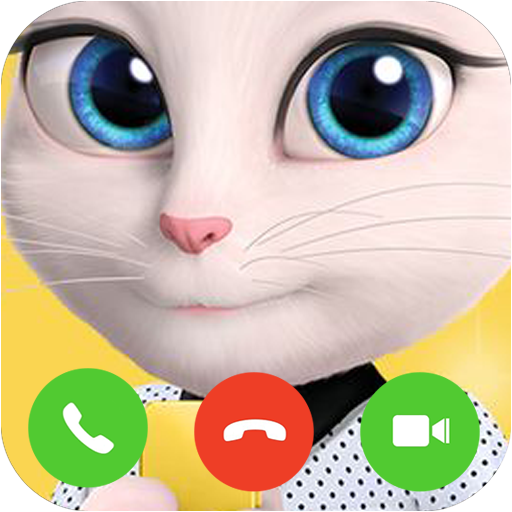 Video Call Talking Cat Angela