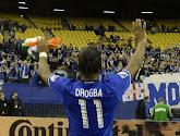 Didier Drogba doet het op 39-jarige leeftijd nog steeds uitstekend, de Chelsea fans zouden hem graag zien terugkeren