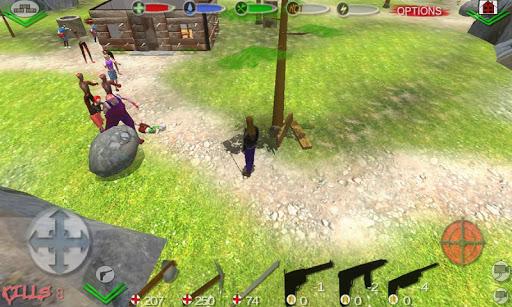 Zombi Survivor Bâtiment : survivre  captures d'écran 1