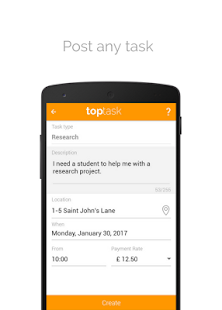 Toptask | Top students for you- screenshot thumbnail