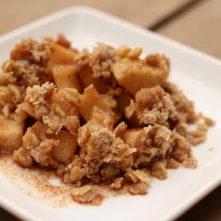 Gluten Free Crockpot Apple Crumble