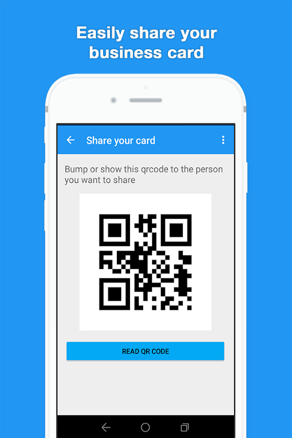 iCardoo Digital Business Card- screenshot