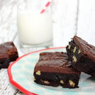 Dangerously Fudgy Brownies