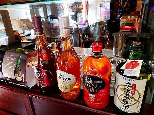 昭和浪漫冰室- CHOYA聯名合作微醺的旅程 大人系的冰品 @台北信義安和