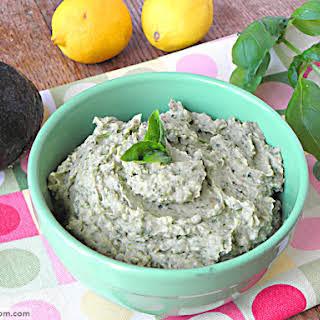 Avocado Bean Dip {Dairy & Nut Free}.