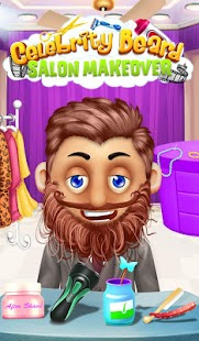 Celebrity Beard Salon Makeover- screenshot thumbnail