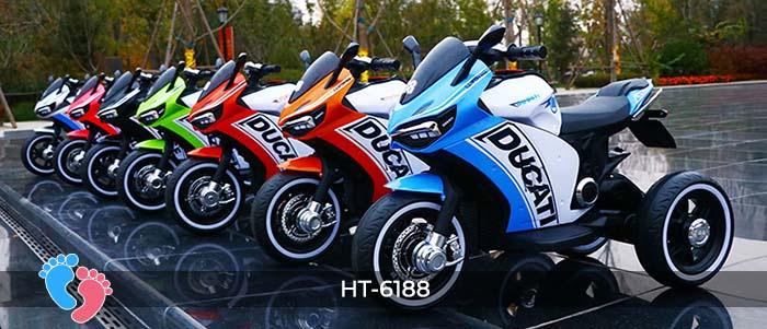Xe mô tô điện thể thao Ducati HT-6188 1