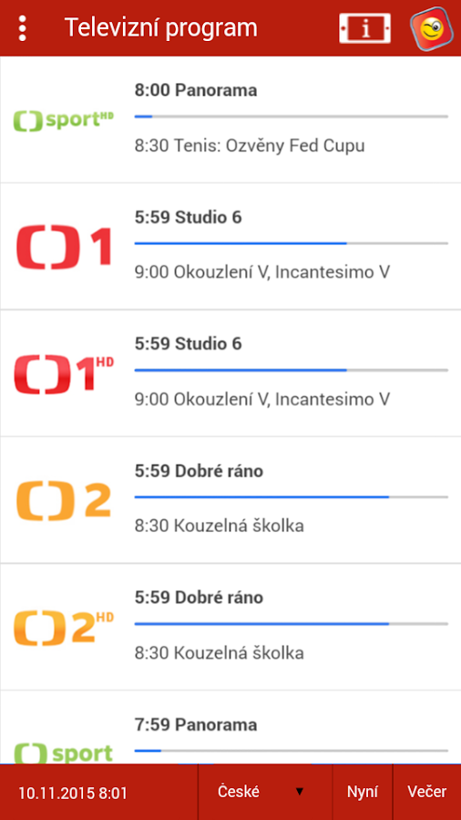 Mazaná TV Mobile- screenshot
