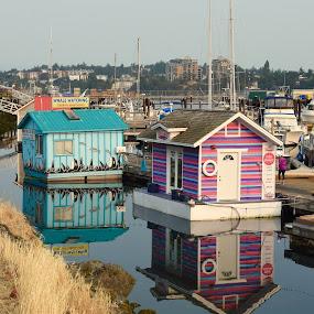Floating houses by Gabriela Zandomeni - City,  Street & Park  Vistas