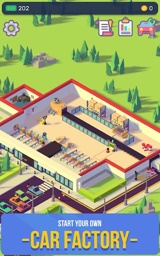Télécharger Gratuit Car Industry Tycoon - Idle Car Factory Simulator  APK MOD (Astuce) screenshots 1