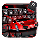 Red Sports Car Racing Keyboard Theme Download on Windows