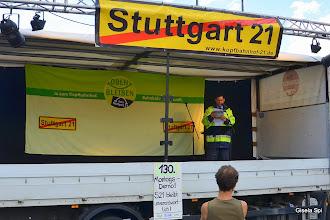 Photo: Thilo Böhmer spricht über Sicherheit und Brandschutz bei Stuttgart 21 http://www.youtube.com/watch?v=GkITUYuq8L8&feature=youtu.be