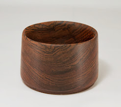 "Photo: Don Couchman 4"" x 2 1/2"" bowl [bocote].  [13.07]"