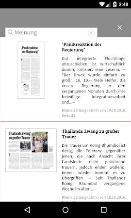 Kleine Zeitung ePaper 3.0.12 screenshot 1298918