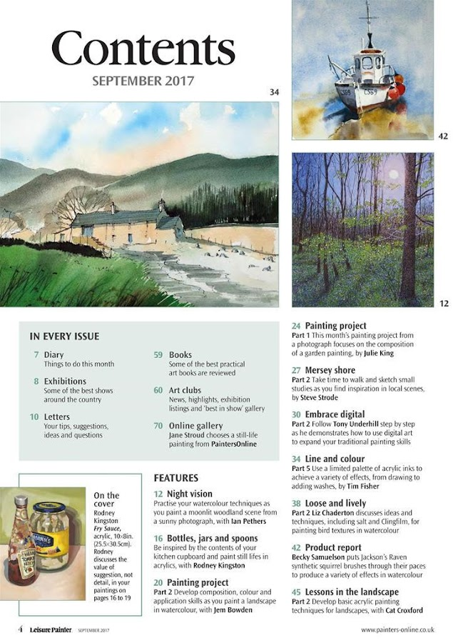 Leisure Painter Magazine- screenshot