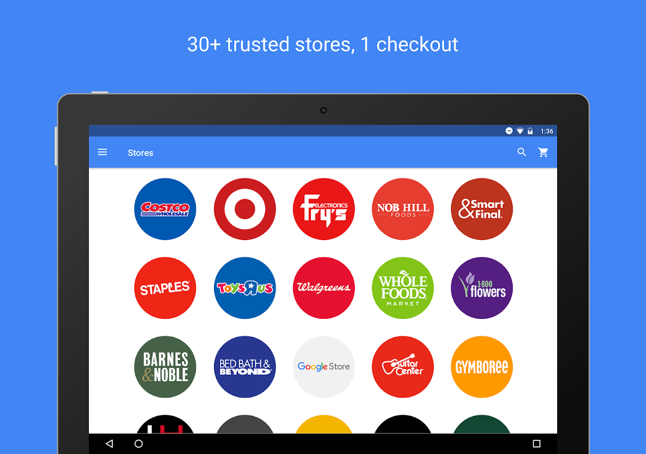 Google Express- screenshot