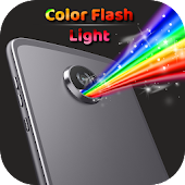 44.  Color Flashlight -Torch LED Flash