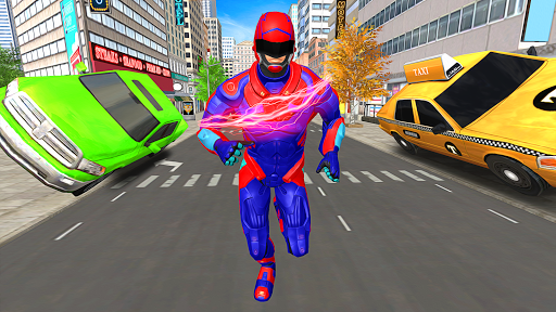 Light Police Speed Hero Robot Rescue Mission 1.8 screenshots 8