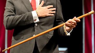 La vara de mando del alcalde de la capital.