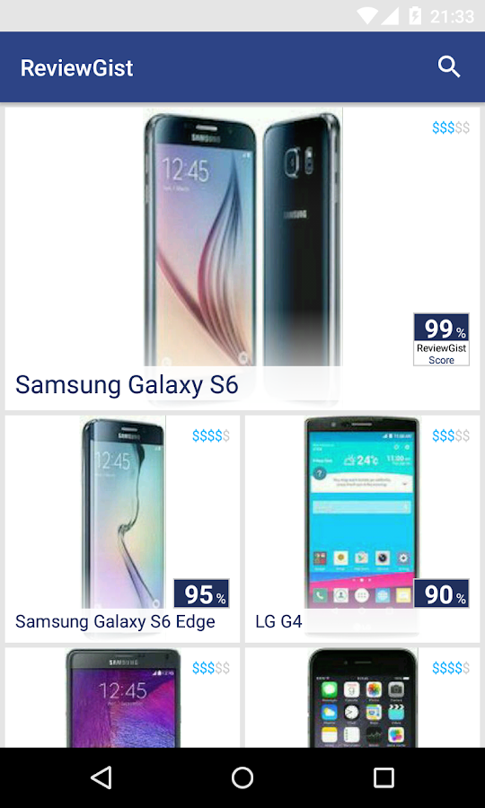 ReviewGist - Mobile Finder - screenshot