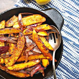 Cajun Spiced Potato Wedges