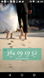 Wedding Countdown Widget- screenshot thumbnail
