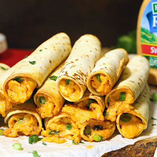 Chili-Lime Chicken Taquitos.